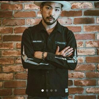 クライミー(CRIMIE)の定価2万円以上 クライミー サンダーボルト シャツ Lサイズ(シャツ)