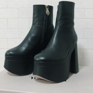 ヴィヴィアンウエストウッド(Vivienne Westwood)のVivienne Westwood フレディー アンクルブーツ 36(ブーツ)