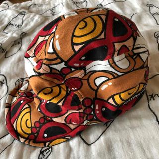 ヒステリックミニ(HYSTERIC MINI)のヒスミニ ブラウン テディ 帽子(帽子)