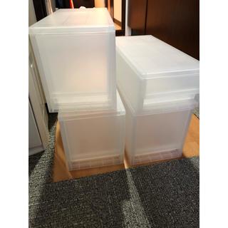 ムジルシリョウヒン(MUJI (無印良品))のいいねブロック 値下不可 1ヶ月使用 無印 ストッカー 4個 (ケース/ボックス)