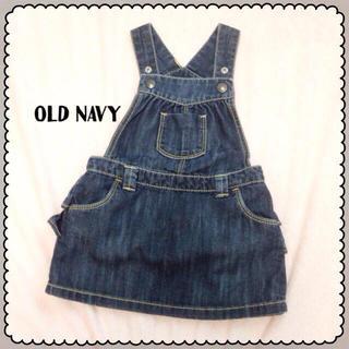 オールドネイビー(Old Navy)のOLD NAVYのサロペット(スカート)
