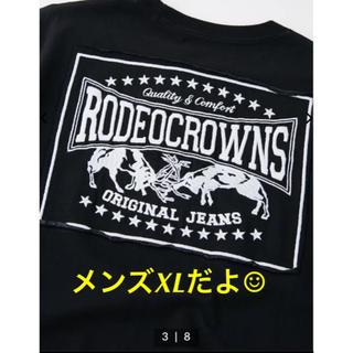 ロデオクラウンズワイドボウル(RODEO CROWNS WIDE BOWL)のRCWB★カラーパッチ Tシャツ★ブラックのみ‼️(Tシャツ/カットソー(半袖/袖なし))