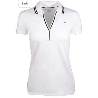 トミーヒルフィガー(TOMMY HILFIGER)のトミーヒルフィガー ポロシャツ レディース XS(ポロシャツ)