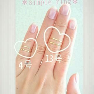 タトゥーオーダー✖様♡専用G4号2本(リング(指輪))