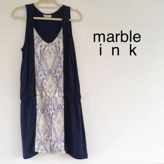 marble ink - 【marble ink】チュニックワンピース