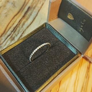 アガット(agete)のagete アガット フルエタニティリング ダイヤ ゴールド 9号 K18(リング(指輪))