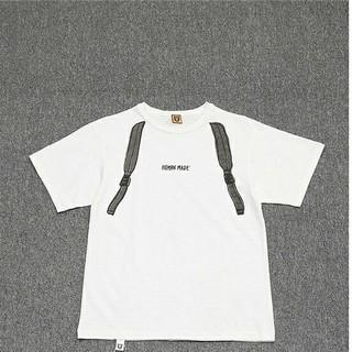 アベイシングエイプ(A BATHING APE)のHUMAN MADE Tシャツ ホワイト(Tシャツ/カットソー(半袖/袖なし))