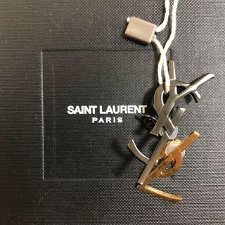 サンローラン(Saint Laurent)のsaint laurent 17ss YSLモノグラムイヤーカフ ピアス(イヤリング)