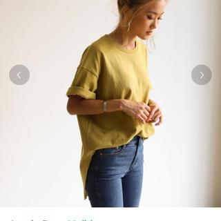 ホリデイ(holiday)の新品タグ付き【Holiday】シャツテールビッグTシャツ(Tシャツ(半袖/袖なし))