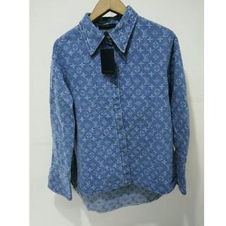LOUIS VUITTON - 本物Louis Vuittonルイヴィトン デニム カジュアルシャツ ゆるコーデ