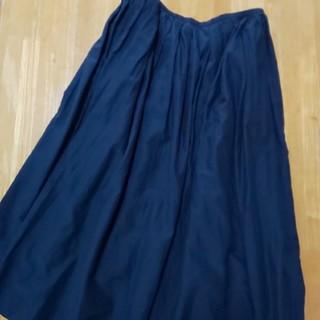ムジルシリョウヒン(MUJI (無印良品))の無印良品 コットンシルクスカート(ロングスカート)