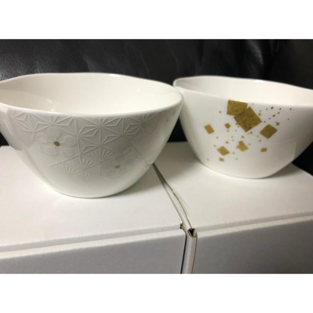NIKKO(ニッコー)の加賀梅鉢紋・かなざわの箔 ボールセット インテリア/住まい/日用品のキッチン/食器(食器)の商品写真