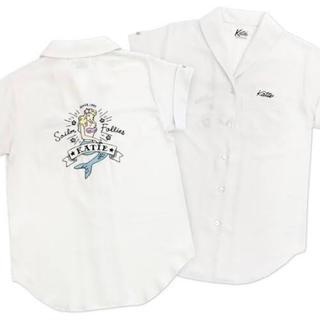 ケイティー(Katie)のkatie be mermaid ボーリングシャツ(シャツ/ブラウス(半袖/袖なし))