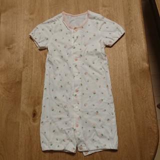 コムサイズム(COMME CA ISM)の新生児服(カバーオール)