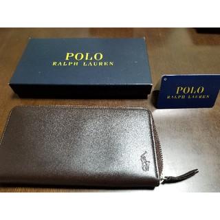 ポロラルフローレン(POLO RALPH LAUREN)のPOLO 長財布 ブラウン(長財布)