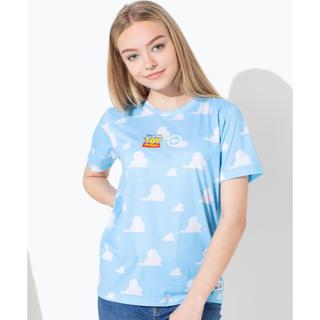 トイストーリー(トイ・ストーリー)の日本未発売 新品タグ付き hype トイストーリー  雲柄 Tシャツ キッズ(Tシャツ/カットソー)