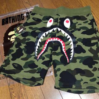a bathing ape 1st camo shark