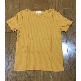 シマムラ(しまむら)の黄色トップス(カットソー(半袖/袖なし))