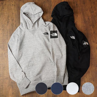 THE NORTH FACE - the north face スクエアロゴ パーカー