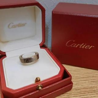 カルティエ(Cartier)のCartier カルティエ LOVE♡ ラブ シークレットリング 10号(リング(指輪))
