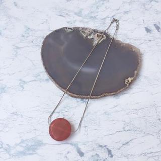 カスタネ(Kastane)の【SALE】天然石風 スネークチョーカー (ネックレス)