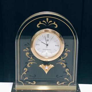 MIKIMOTO - MIKIMOTO ミキモト真珠 置き時計