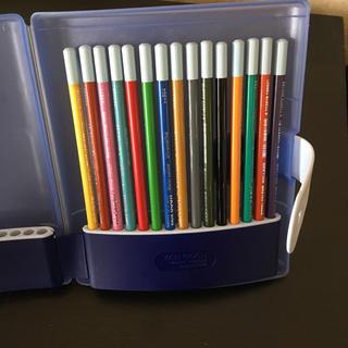 ヴァンゴッホ 水彩色鉛筆 15色 ケース付きセット