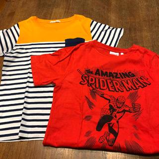 GU - GU  キッズ  Tシャツ  2点セット