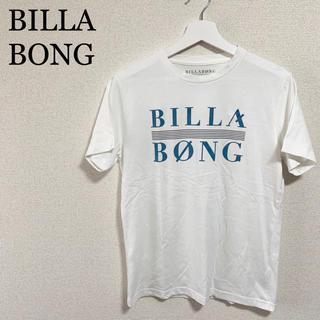 billabong - BILLA BONG ビラボン Tシャツ 白 メンズM ビッグロゴ デカロゴ
