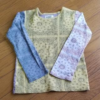 マーキーズ(MARKEY'S)の【MARKEY'S】 長袖 Tシャツ 120 ペイズリー(Tシャツ/カットソー)