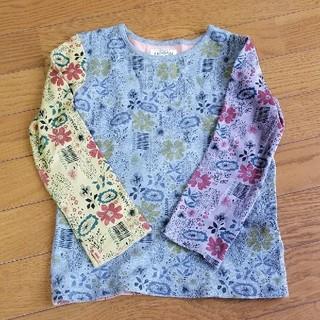 マーキーズ(MARKEY'S)の【MARKEY'S】 長袖 Tシャツ 120 花柄(Tシャツ/カットソー)