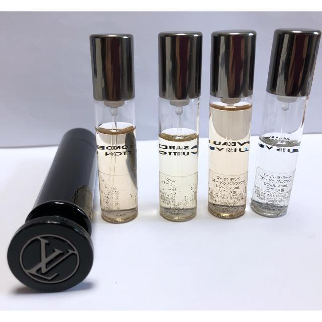 LOUIS VUITTON(ルイヴィトン)のLOUIS VUITTON 香水 トラベルセット コスメ/美容の香水(香水(男性用))の商品写真
