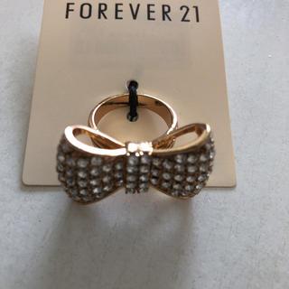 フォーエバートゥエンティーワン(FOREVER 21)のリボンリング   forever21(リング(指輪))