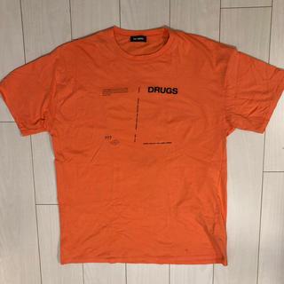 ラフシモンズ(RAF SIMONS)のRAF SIMONS T シャツ Drug Sサイズ (Tシャツ/カットソー(半袖/袖なし))
