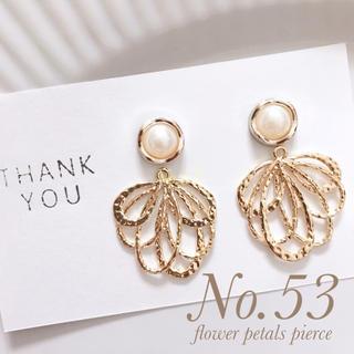 flower petals pierce(ピアス)