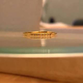 イーエム(e.m.)のe .m. ダイヤモンドピンキーリング 3号(リング(指輪))