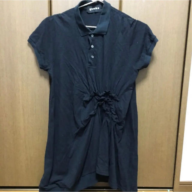 GOMME HOMME(ゴムオム)のgomme シャーリングポロ レディースのトップス(ポロシャツ)の商品写真
