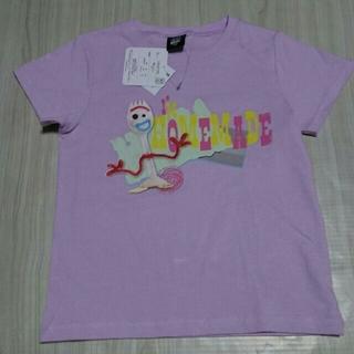 トイストーリー(トイ・ストーリー)のトイ・ストーリー4 フォーキー Tシャツ  サイズ 130   (Tシャツ/カットソー)
