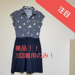 アディダス(adidas)の美品☆アディダス ゴルフウェア☆(ひざ丈ワンピース)