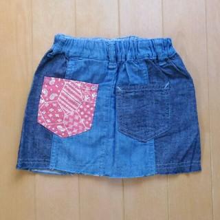 ブリーズ(BREEZE)の☆SALE!☆新品未使用☆BREEZE デニムスカート(サイズ90)(スカート)