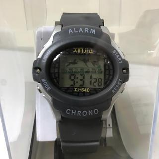 デジタルウォッチ ☆ グレー(腕時計(デジタル))