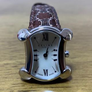 セリーヌ(celine)のCELINE セリーヌ ブラゾン レディース クォーツ シェル文字盤(腕時計)