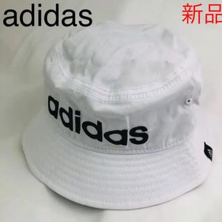 adidas - 【新品未使用】アディダス★ロゴバケットハット★男女兼用★帽子
