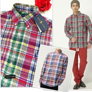 ラルフローレン(Ralph Lauren)の新品 セール 定1.94万 ラルフローレンシャツ セレブに大反響チェック(シャツ)