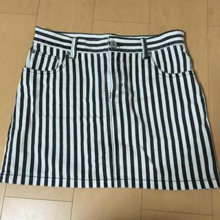 ローリーズファーム(LOWRYS FARM)のローリーズファーム♡ストライプスカート(ミニスカート)