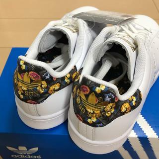 アディダス(adidas)のadidasスタンスミス定価16200円以上‼️フラワーパターン‼️(スニーカー)