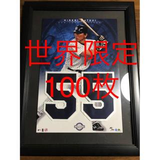 ヨミウリジャイアンツ(読売ジャイアンツ)の松井秀喜 2005年ジャージナンバーコレクションフレーム(記念品/関連グッズ)