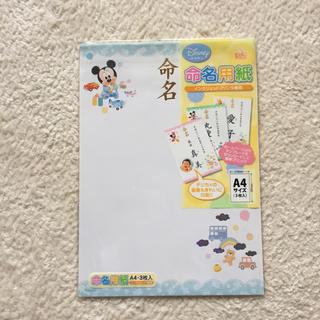 ディズニー(Disney)の命名用紙 ディズニー(命名紙)