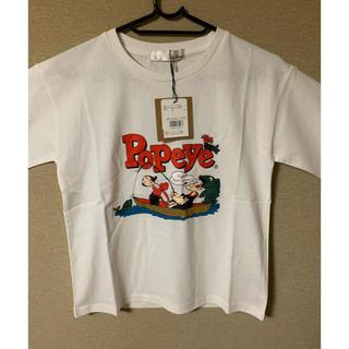 リリーブラウン(Lily Brown)のLily Brown(リリーブラウン) POPEYETシャツ  (Tシャツ(半袖/袖なし))