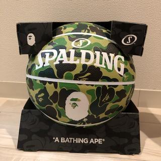 アベイシングエイプ(A BATHING APE)のAPE バスケットボール spalding(バスケットボール)